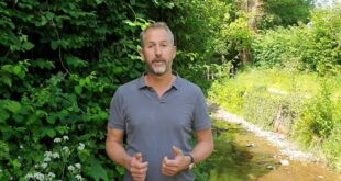 Mark Lloyd introduces new project in the Wyre catchment