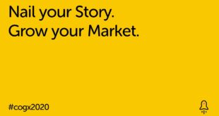 Nail your Story. Grow your Market | CogX 2020