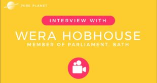 Pure Planet - Interview with Wera Hobhouse