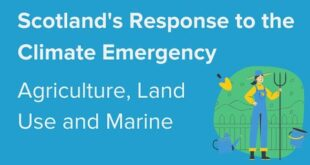 Scotland's Response to the Climate Emergency: Agriculture, Land use and Marine