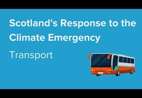 Scotland's Response to the Climate Emergency: Transport