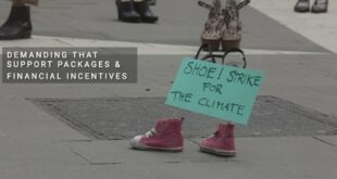 Shoestrike for the climate