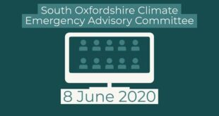 South Oxfordshire Climate Emergency Advisory Committee - 8 June 2020