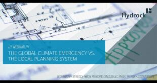The Global Climate Emergency vs Local Planning System [WEBINAR]