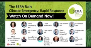 The SERA Rally | Climate Emergency: RAPID RESPONSE - SERA Fringe Event #Lab19