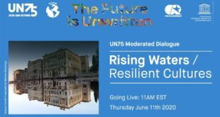 UN75 Moderated Dialogue: Rising Waters / Resilient Cultures