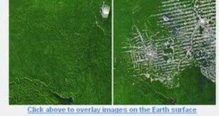 UNEP - Amazon Deforestation in Google Earth