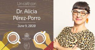 Un café con...Alicia Pérez-Porro