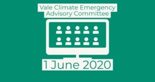 Vale Climate Emergency Advisory Committee - 1 June 2020