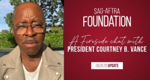 Weekly Fireside Chat 'Drumbeat of Justice' with Foundation President Courtney B. Vance 6/1/20
