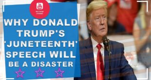 Why Donald Trump's 'Juneteenth' speech will be a disaster - world news