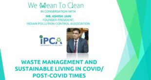 World Environment Day 2020: Waste Management and Sustainable Living in Covid/ Post-Covid Times