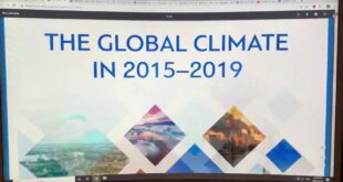 World Meteorological Organization Report: The Global Climate in 2015 - 2019: Part 2 of 2